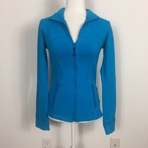 Lululemon Blue Define Zip Up Jacket